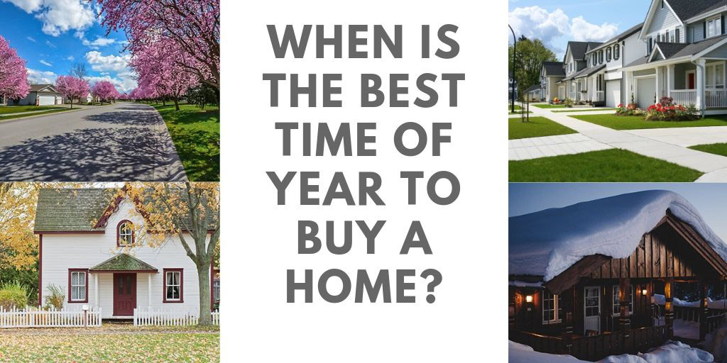 When is the Best Time of Year to Buy a Home in Mississauga and Barrie, ON?